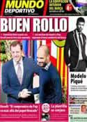 Portada Mundo Deportivo del 24 de Marzo de 2011