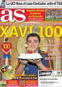 Portada diario AS del 25 de Marzo de 2011