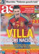 Portada diario AS del 26 de Marzo de 2011