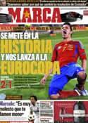 Portada diario Marca del 26 de Marzo de 2011