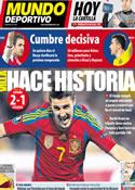 Portada Mundo Deportivo del 26 de Marzo de 2011