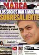 Portada diario Marca del 27 de Marzo de 2011