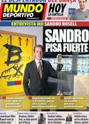 Portada Mundo Deportivo del 27 de Marzo de 2011