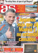 Portada diario AS del 28 de Marzo de 2011