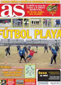 Portada diario AS del 29 de Marzo de 2011
