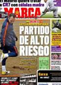 Portada diario Marca del 29 de Marzo de 2011