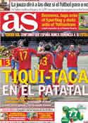 Portada diario AS del 30 de Marzo de 2011