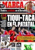 Portada diario Marca del 30 de Marzo de 2011