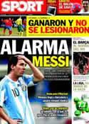 Portada diario Sport del 30 de Marzo de 2011