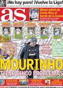 Portada diario AS del 31 de Marzo de 2011