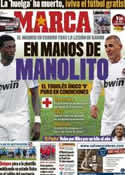 Portada diario Marca del 31 de Marzo de 2011