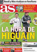 Portada diario AS del 1 de Abril de 2011