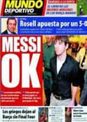 Portada Mundo Deportivo del 1 de Abril de 2011