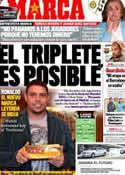 Portada diario Marca del 2 de Abril de 2011