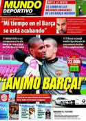 Portada Mundo Deportivo del 2 de Abril de 2011