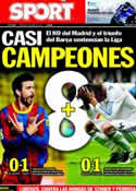 Portada diario Sport del 3 de Abril de 2011