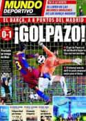 Portada Mundo Deportivo del 3 de Abril de 2011