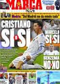 Portada diario Marca del 4 de Abril de 2011