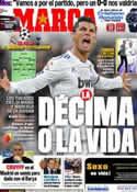 Portada diario Marca del 5 de Abril de 2011