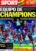Portada diario Sport del 5 de Abril de 2011