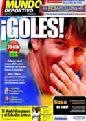 Portada Mundo Deportivo del 6 de Abril de 2011