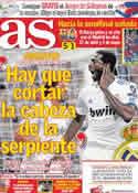 Portada diario AS del 7 de Abril de 2011