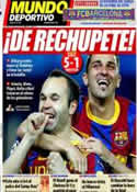 Portada Mundo Deportivo del 7 de Abril de 2011