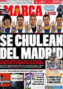 Portada diario Marca del 8 de Abril de 2011