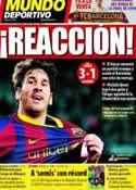 Portada Mundo Deportivo del 10 de Abril de 2011