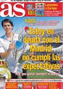 Portada diario AS del 11 de Abril de 2011