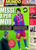 Portada Mundo Deportivo del 11 de Abril de 2011