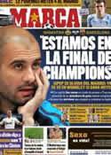 Portada diario Marca del 12 de Abril de 2011
