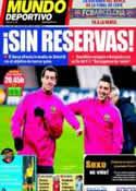 Portada Mundo Deportivo del 12 de Abril de 2011