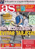 Portada diario AS del 13 de Abril de 2011