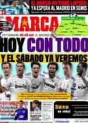 Portada diario Marca del 13 de Abril de 2011