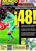 Portada Mundo Deportivo del 13 de Abril de 2011