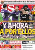 Portada diario AS del 14 de Abril de 2011