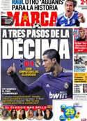Portada diario Marca del 14 de Abril de 2011