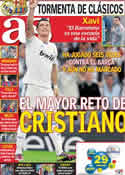 Portada diario AS del 15 de Abril de 2011