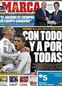 Portada diario Marca del 15 de Abril de 2011