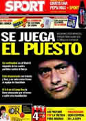 Portada diario Sport del 15 de Abril de 2011