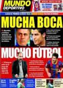 Portada Mundo Deportivo del 15 de Abril de 2011