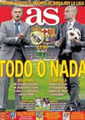 Portada diario AS del 16 de Abril de 2011