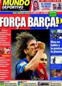 Portada Mundo Deportivo del 16 de Abril de 2011