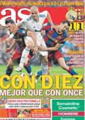 Portada diario AS del 17 de Abril de 2011