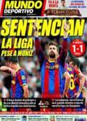 Portada Mundo Deportivo del 17 de Abril de 2011
