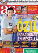 Portada diario AS del 18 de Abril de 2011