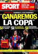 Portada diario Sport del 18 de Abril de 2011