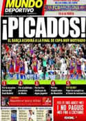 Portada Mundo Deportivo del 18 de Abril de 2011