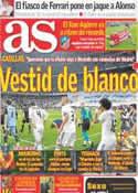 Portada diario AS del 19 de Abril de 2011